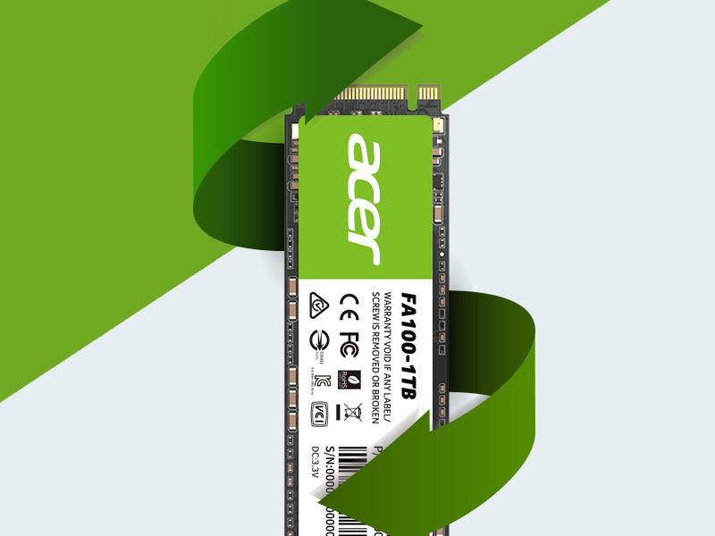 Ổ cứng SSD FA100 1TB PCIe Gen3x4 ACER